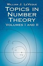 Topics in number theory : volumes I and II
