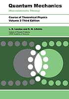 Quantum mechanics, non-relativistic theory