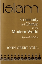 Islam, continuity and change in the modern world