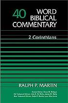 World biblical commentary