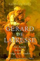 Gerard de Lairesse : an artist between stage and studio