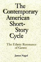 The ethnic resonance of genre : eight contemporary American short-story cycles
