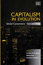 Capitalism in evolution global contentions--East and West