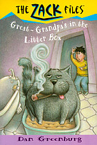 Great-Grandpa's in the litter box
