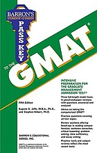Barron's pass key to the GMAT, graduate management admission test