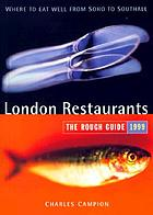 London restaurants : the mini rough guide