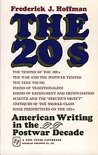 The twenties; American writing in the postwar decade