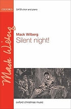 Silent night! : SATB choir and piano