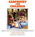Carpentry for children