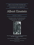 The collected papers of Albert Einstein