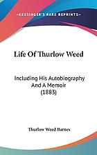 Memoir of Thurlow Weed