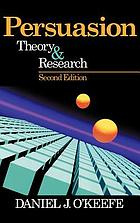 Persuasion : theory & research