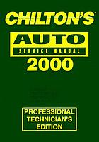 Chilton's auto repair manual, 1996-00