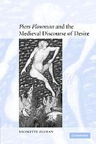 Piers Plowman and the medieval discourse of desire