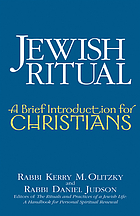 Jewish ritual : a brief introduction for Christians