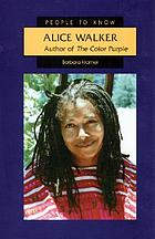 Alice Walker : author of The color purple