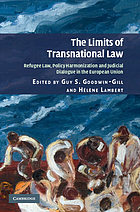 The limits of transnational law : refugee law, policy harmonization and judicial dialogue in the European Union