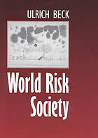 Risk society : towards a new modernity