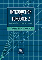 Introduction to Eurocode 2 : design of concrete structures (including seismic actions)