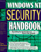 Windows NT security handbook