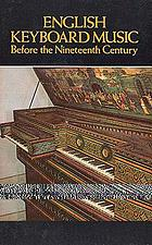 English keyboard music before the nineteenth century