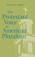 The Protestant voice in American pluralism