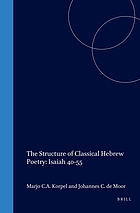 The structure of classical Hebrew poetry : Isaiah 40-55