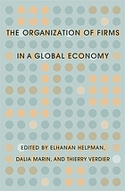 The organization of firms in a global economy