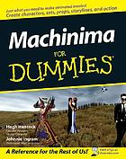 Machinima for dummiesMachinima for dummies