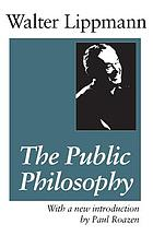 Essays in the public philosophy