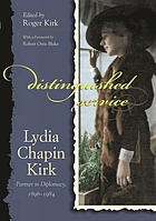 Lydia Chapin Kirk : partner in diplomacy, 1896-1984