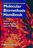 Molecular biomethods handbook