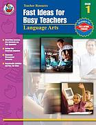 Fast ideas for busy teachers language arts, grade 1