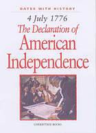 4 July 1776 : the declaration of American Independence