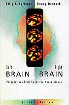 Left brain, right brain : perspectives from cognitive neuroscience