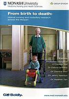 From birth to death : clinical nursing and midwifery research across the lifespan