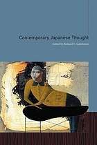 Contemporary Japanese thought