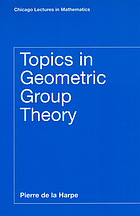 Topics in geometric group theory