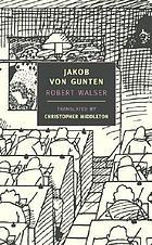 Jakob von Gunten; a novel