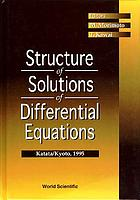 Structure of solutions of differential equations : Katata/Kyoto, 1995