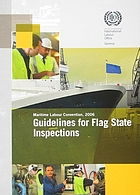 Guidelines for flag state inspections under the Maritime Labour Convention, 2006