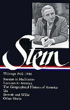 Writings, 1932-1946