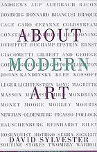 About modern art : critical essays, 1948-1997
