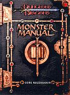 Dungeons & dragons monster manual : core rulebook III