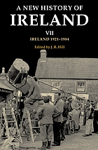A new history of IrelandIreland 1921-84