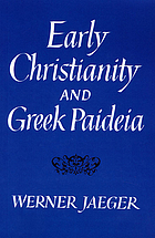Early Christianity and Greek paideia