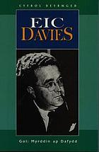 Cyfrol deyrnged Eic Davies