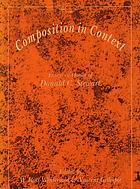 Composition in context : essays in honor of Donald C. Stewart