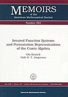 Iterated function systems and permutation representations of the Cuntz algebra