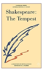 Shakespeare: The tempest; a casebook